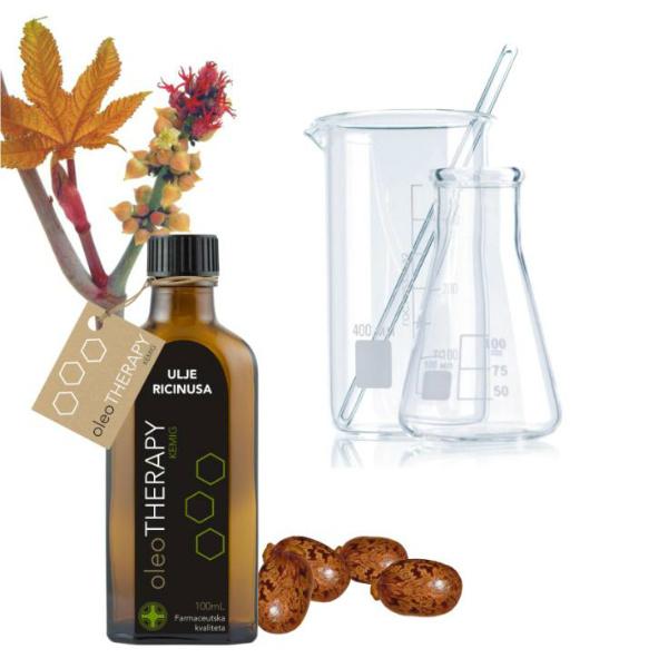 Ricinusovo ulje - oleoTHERAPY