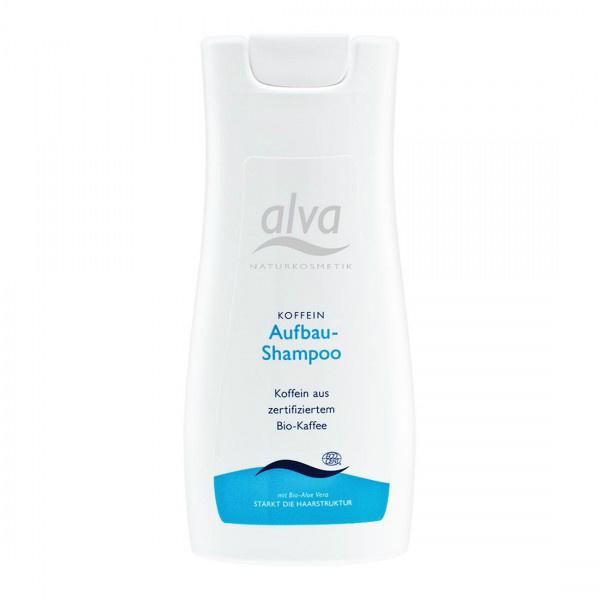 Šampon s organskim kofeinom za rijetku kosu