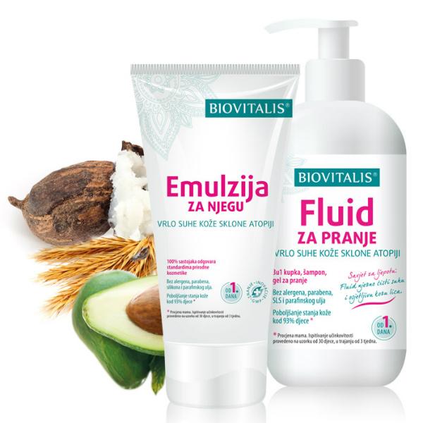 Biovitalis - Set 2u1 Emulzija i fluid