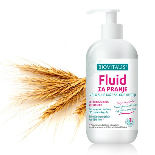 Fluid za pranje vrlo suhe kože sklone atopiji - Biovitalis