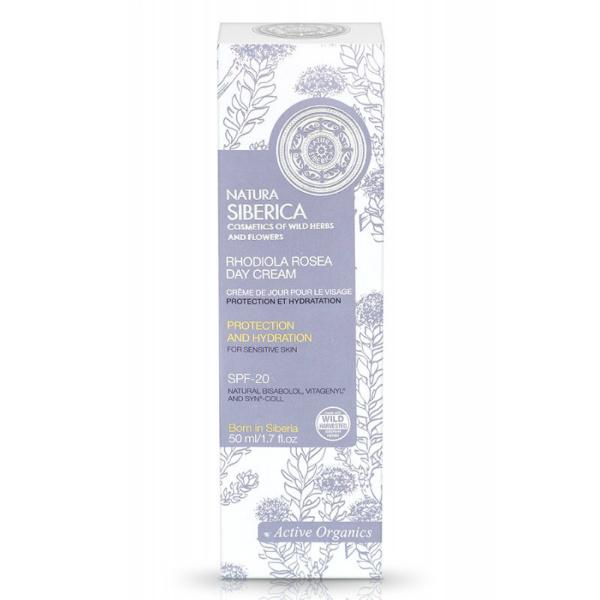 Zaštitna i hidratantna krema za osjetljivu kožu - Natura Siberica