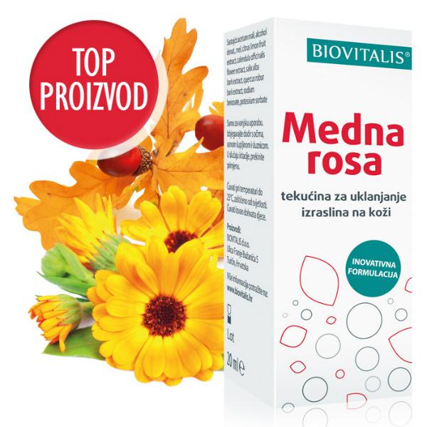 Medna Rosa protiv virusnih bradavica