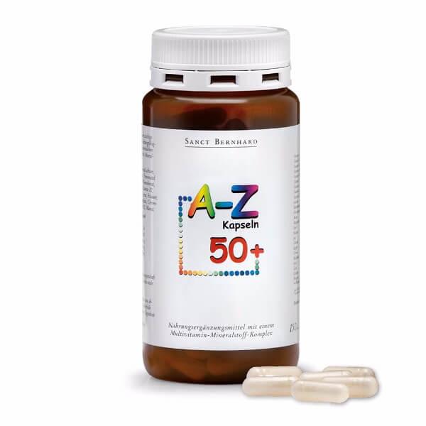 Vitamini A-Z 50 + kapsule