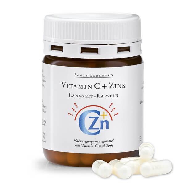 Vitamin C + Cink kapsule s vremenskim otpuštanjem