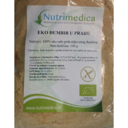 Eko đumbir u prahu – Nutrimedica