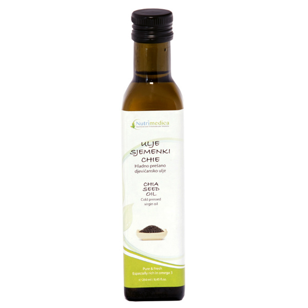Ulje Chia sjemenki – Nutrimedica
