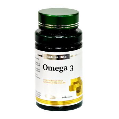 Natura Line Omega 3 kapsule