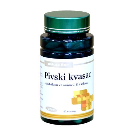 Natura Line Pivski kvasac kapsule