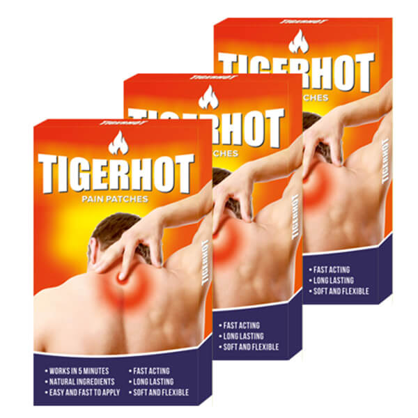 TigerHot flasteri protiv bolova