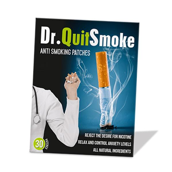Dr. QuitSmoke flasteri za prestanak pušenja