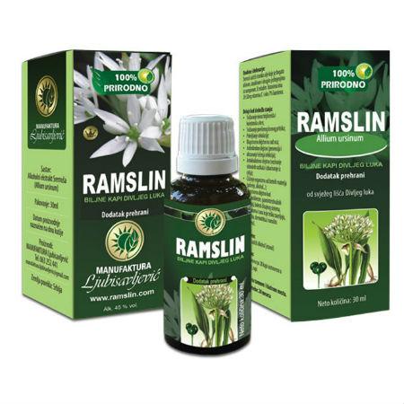 Ramslin biljne kapi divljeg luka (30 ml)