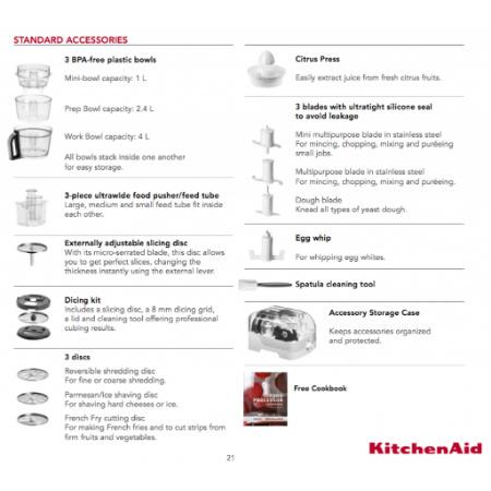 KitchenAid Food Processor Artisan – Multipraktik