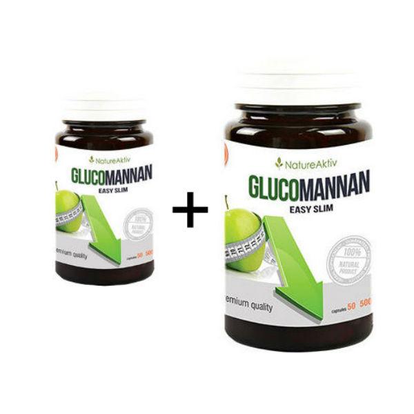 Glucomannan 1+1 GRATIS