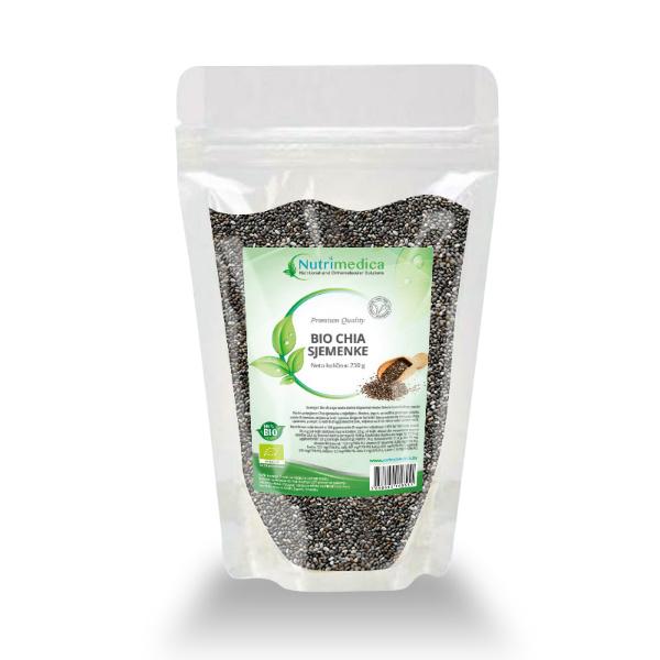 Eko Chia sjemenke - Nutrimedica