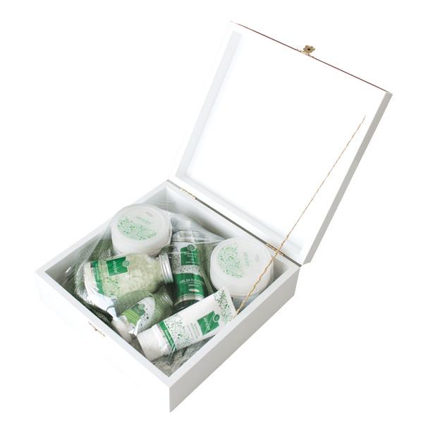 Limunska Trava/Naranča - Poklon paket u drvenoj kutiji