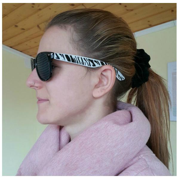 Rupičaste naočale model 8