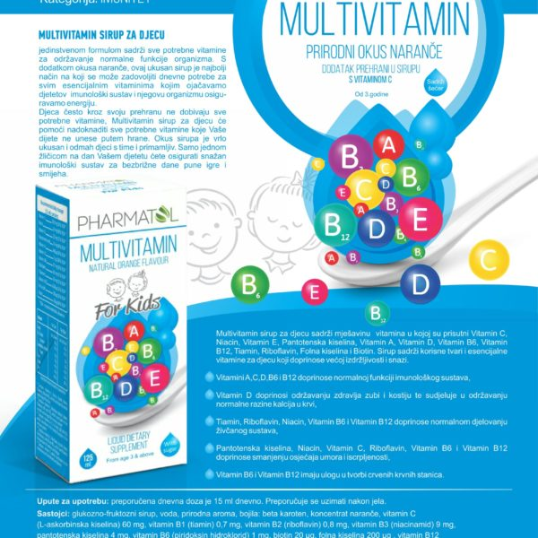 Multivitamin sirup prospekt – Pharmatol