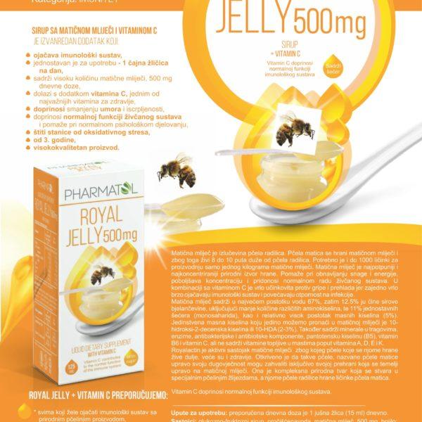 Matična mliječ sirup 500 mg-Pharmatol