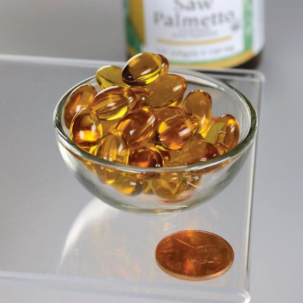 Swanson – Sabal palma 160 mg (120 kapsula)
