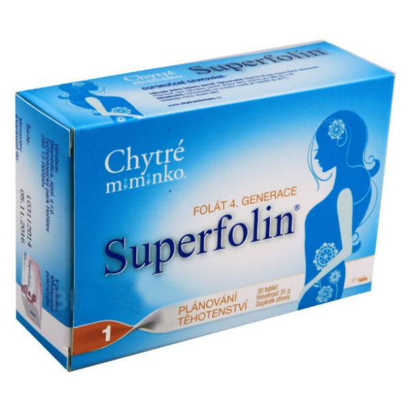 Kapsule Superfolin - Energy