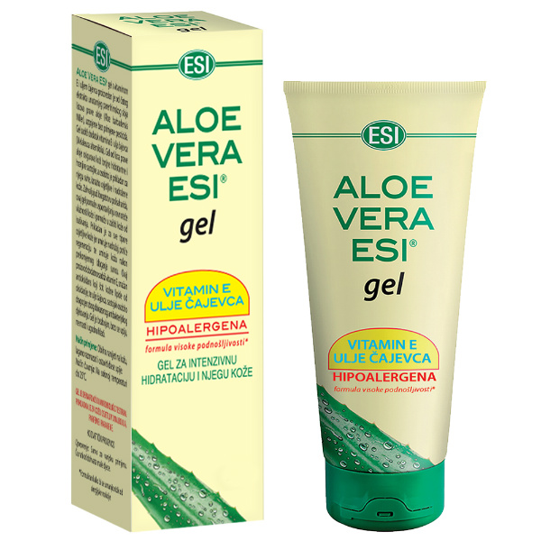 ESI - Aloe Vera gel s vitaminom E i uljem čajevca