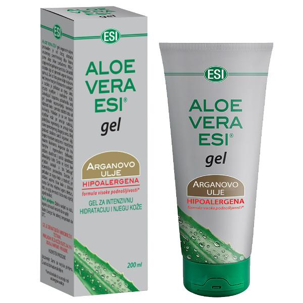 Esi Aloe vera gel s arganovim uljem