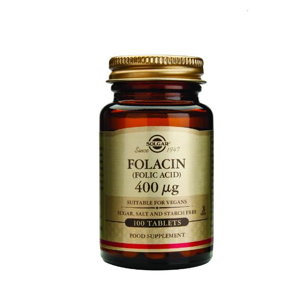 Solgar - Folna kiselina (FOLACIN) 100 tableta