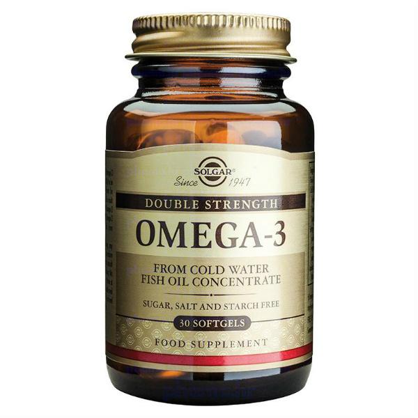 Solgar - Omega 3 Double Strenght (60 kapsula)