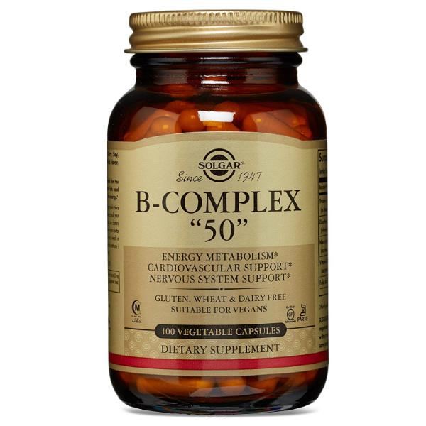 Solgar - B kompleks 50 (100 kapsula)