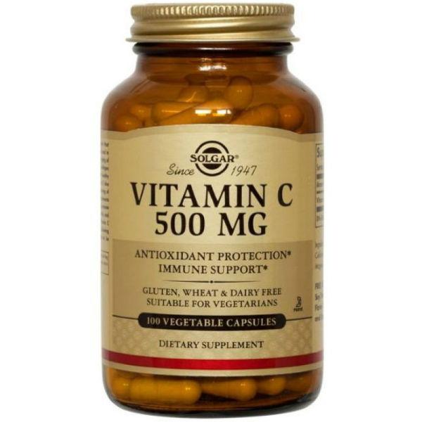 Solgar Vitamin C 500 mg kapsule