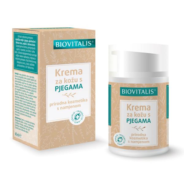 Biovitalis - Krema za kožu s pjegama (40ml)