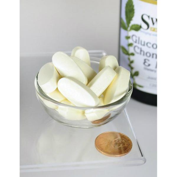 Swanson – Glucosamine, Chondroitin & MSM (120 kapsula)