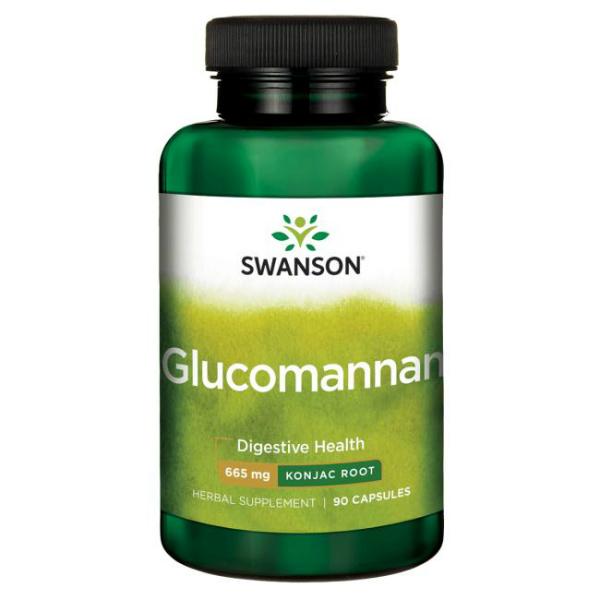 Swanson - Glukomanan 665 mg (90 kapusla)