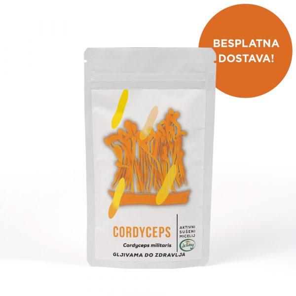 Cordyceps prah 100g